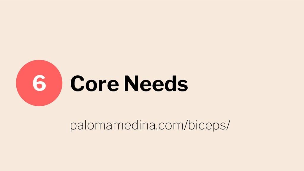 Core Needs 6 palomamedina.com/biceps/