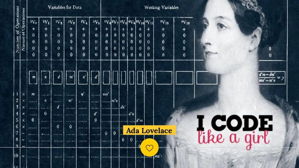 Ada Lovelace . ! 60