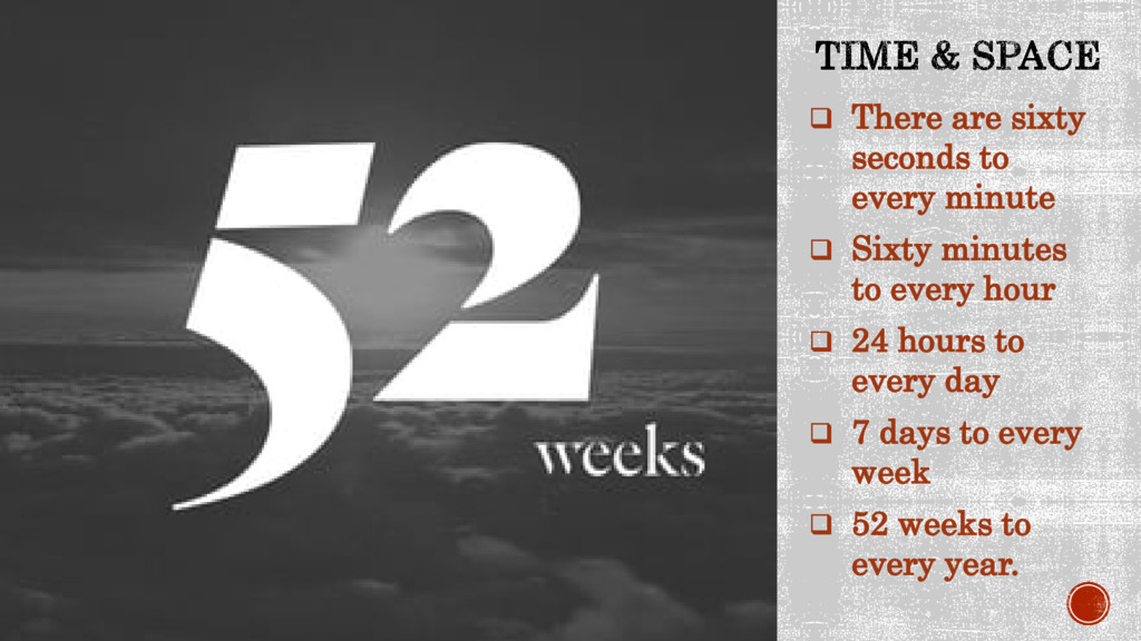  There are sixty seconds to every minute  Six...
