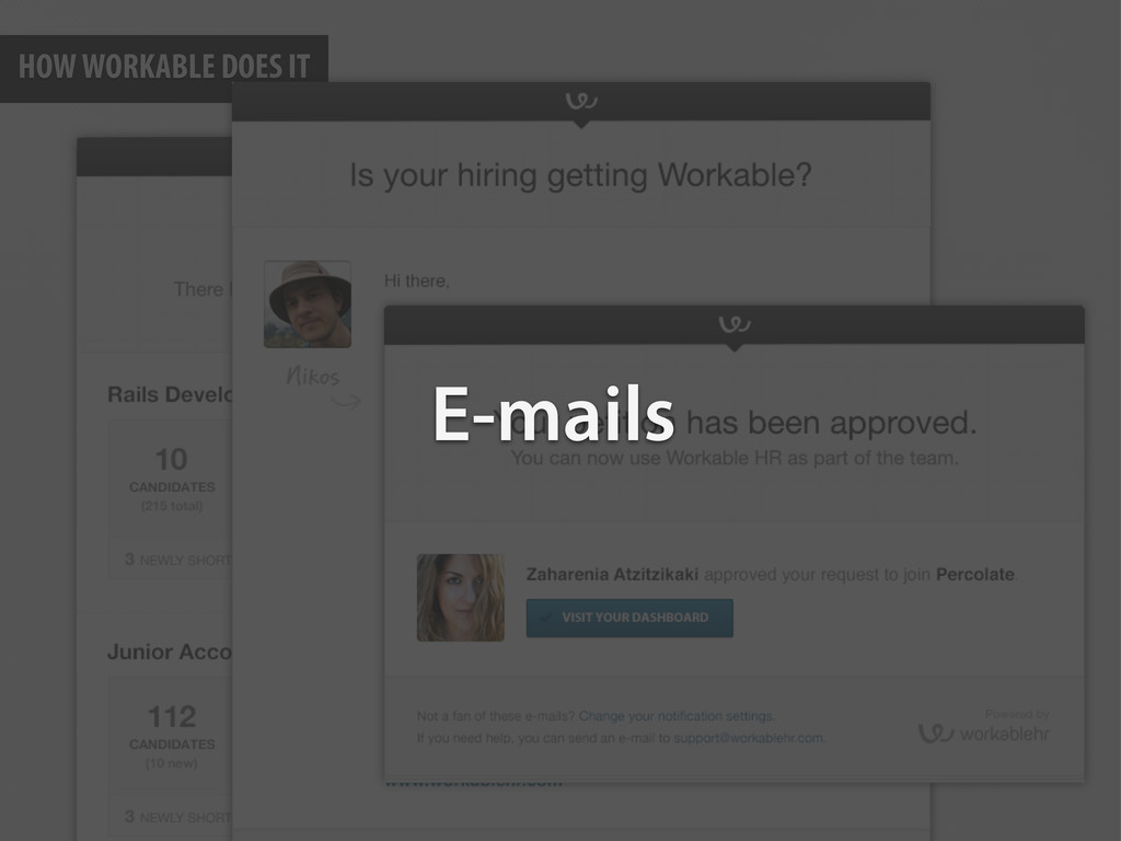 HOW WORKABLE DOES IT E-mails