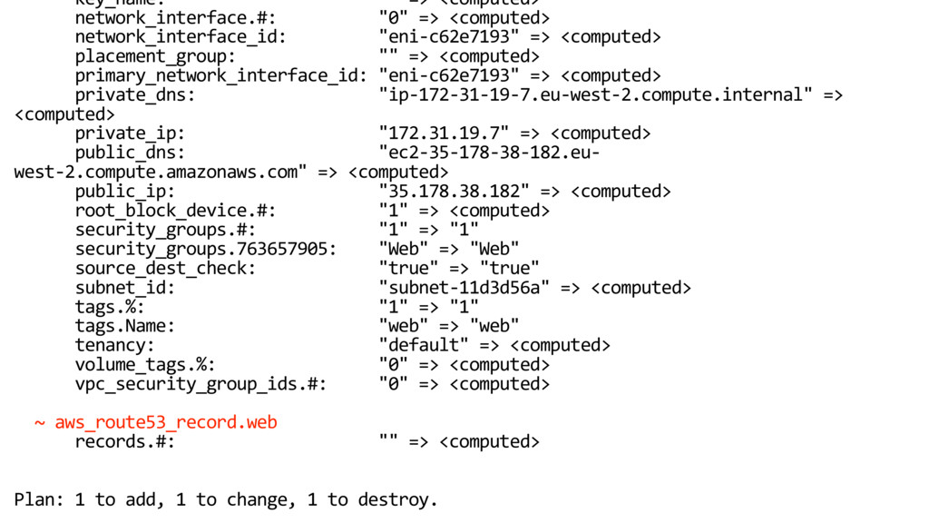 """key_name: """""""" => <computed> network_interface.#:..."""