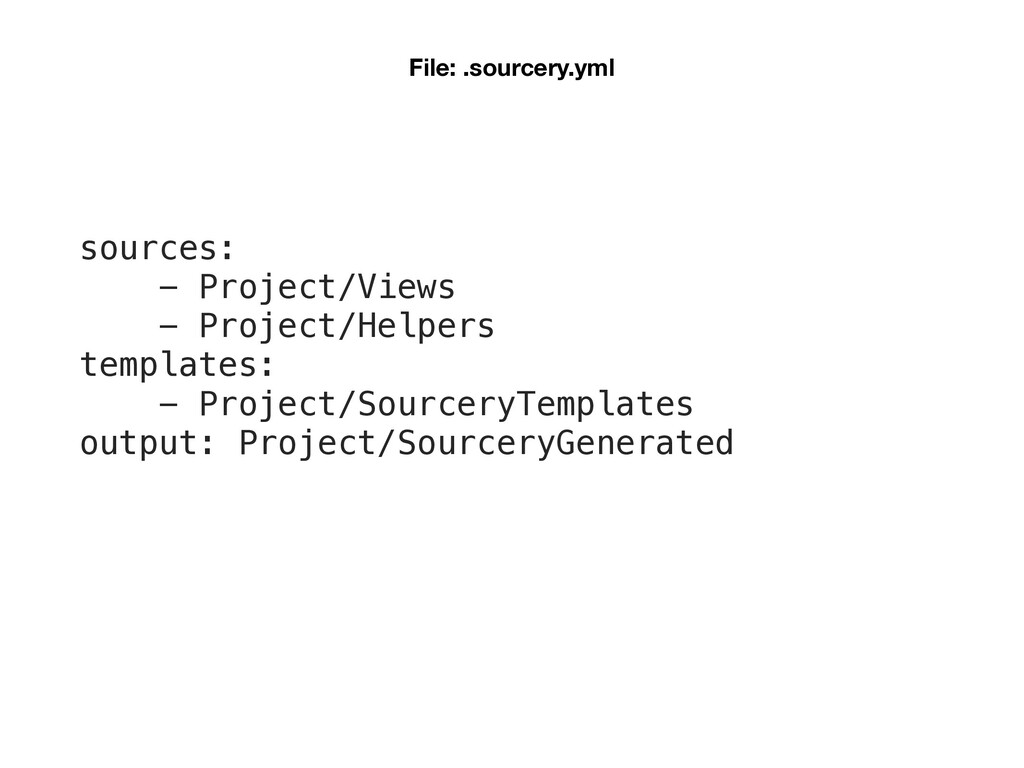 sources: - Project/Views - Project/Helpers temp...