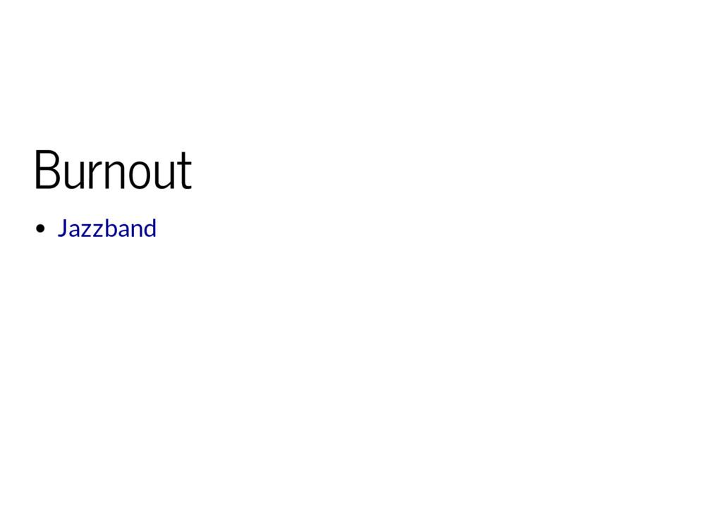 Burnout Jazzband