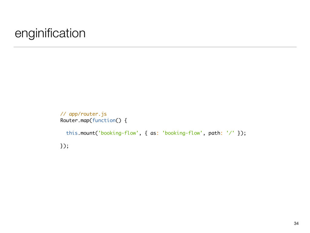 enginification 34 // app/router.js Router.map(fu...