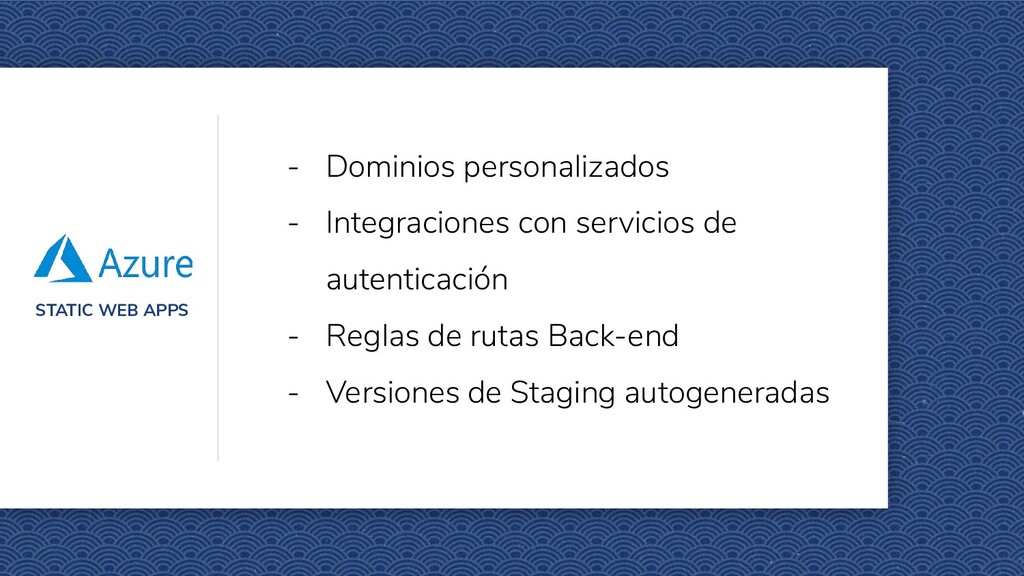 STATIC WEB APPS - Dominios personalizados - Int...