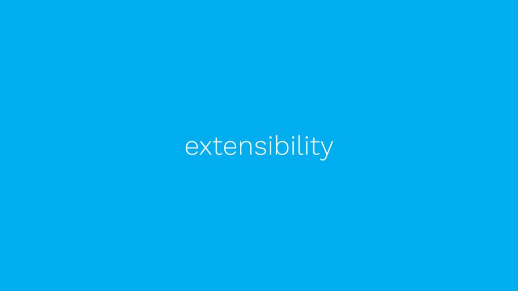 extensibility