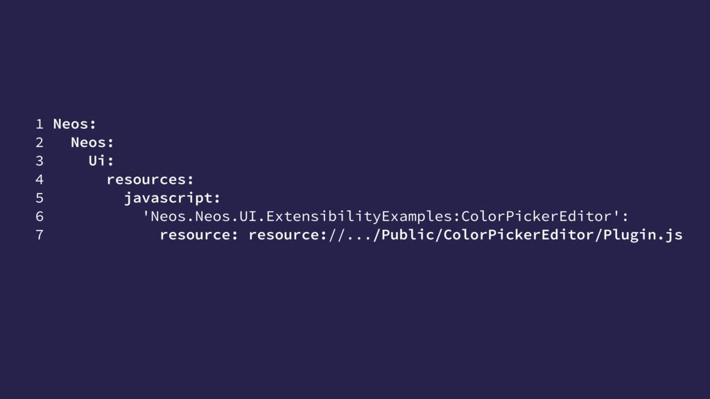 1 Neos: 2 Neos: 3 Ui: 4 resources: 5 javascript...
