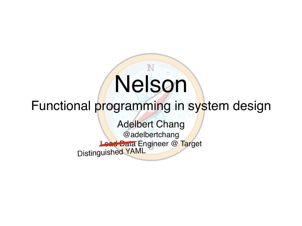 Nelson Functional programming in system design ...
