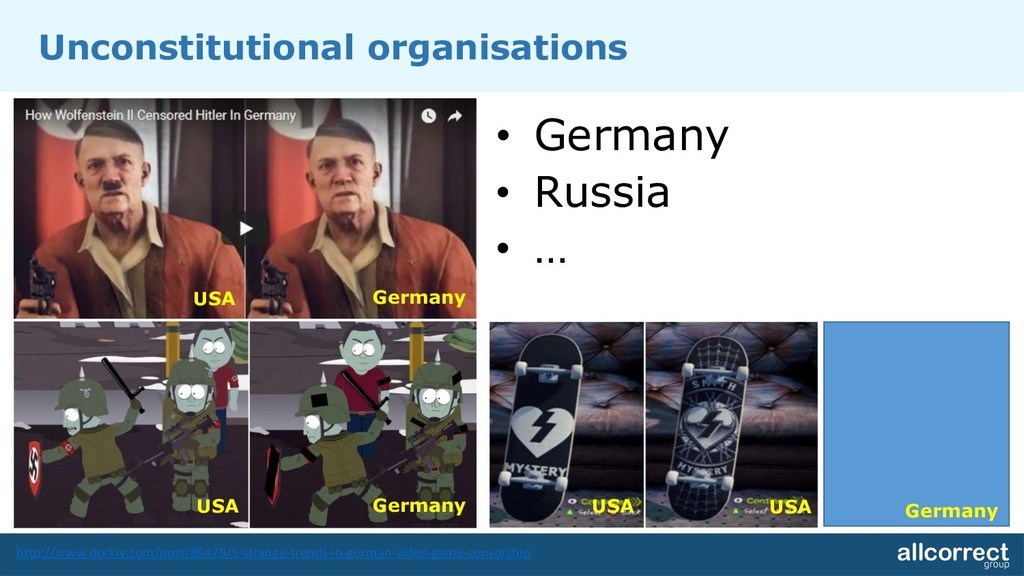 Unconstitutional organisations • Germany • Russ...