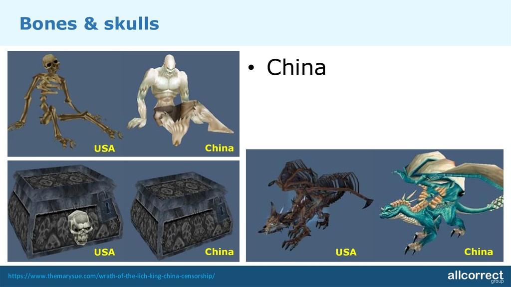 Bones & skulls • China https://www.themarysue.c...
