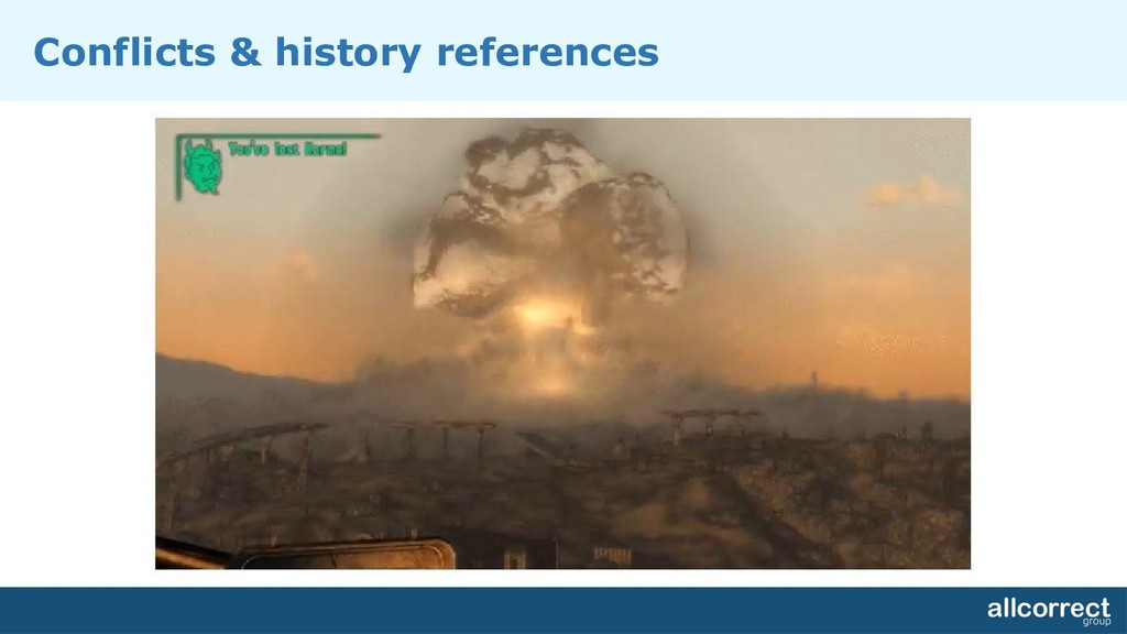 Conflicts & history references