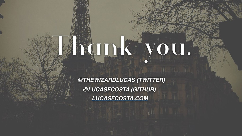 Thank you. @THEWIZARDLUCAS (TWITTER) @LUCASFCOS...
