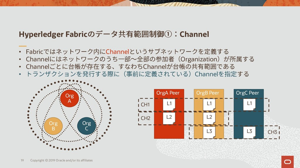 Hyperledger Fabric Channel • Fabric Channel • C...