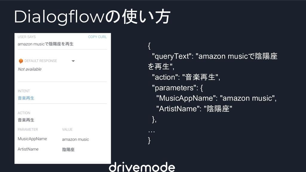 "{ ""queryText"": ""amazon musicで陰陽座 を再生"", ""action""..."