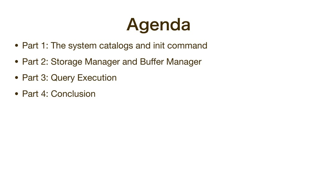 """""""HFOEB • Part 1: The system catalogs and init c..."""