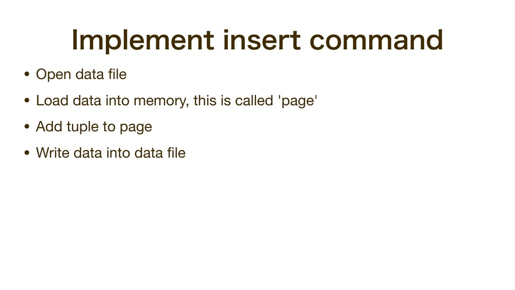 *NQMFNFOUJOTFSUDPNNBOE • Open data file  • Loa...