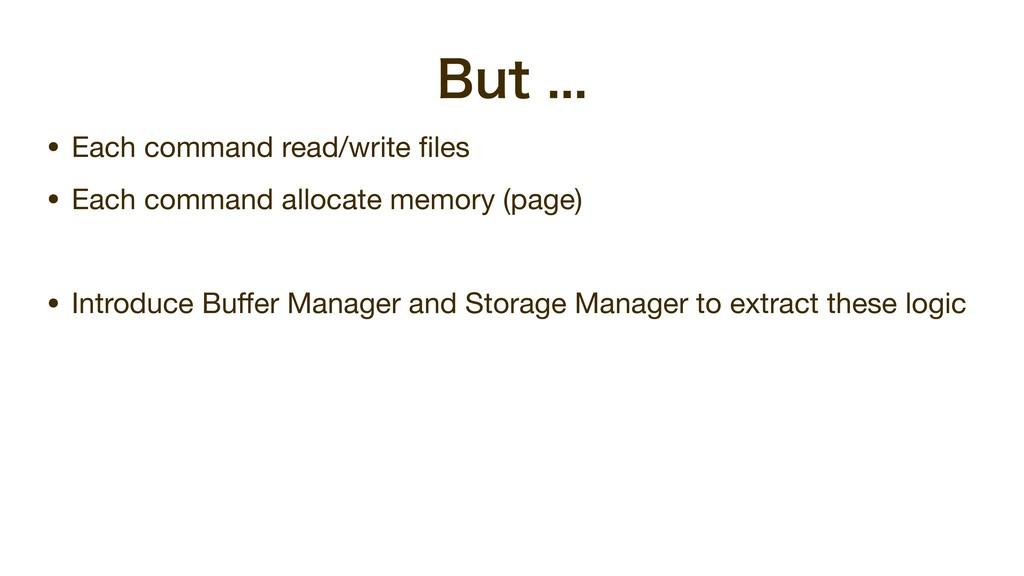 #VU • Each command read/write files  • Each ...