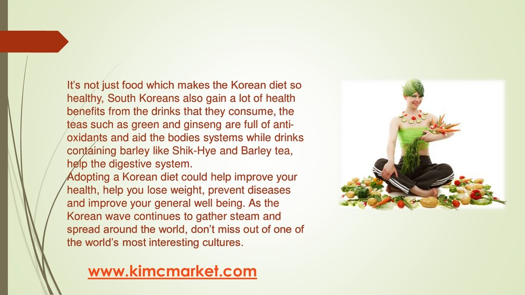 www.kimcmarket.com It's not just food which mak...
