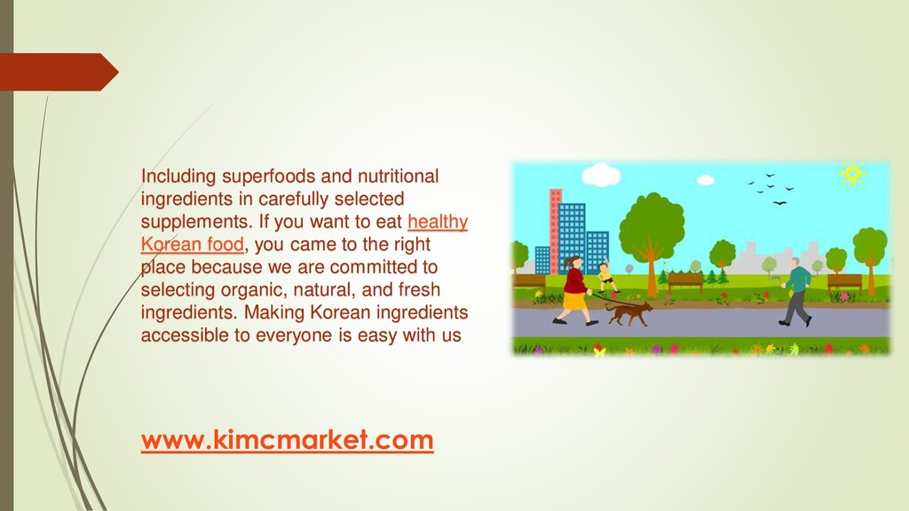 Including superfoods and nutritional ingredient...
