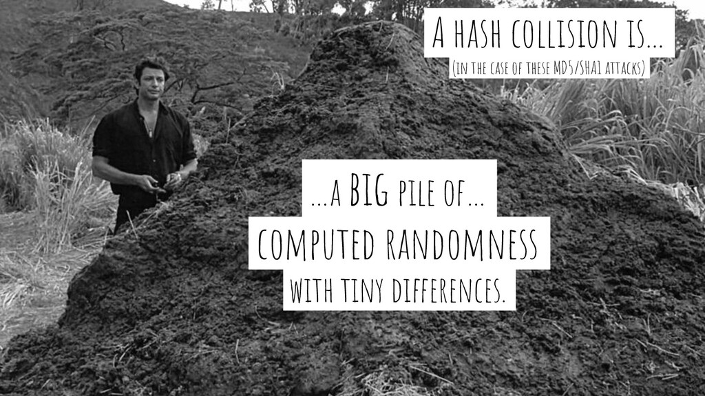 …a big pile of…- computed randomness- with tiny...