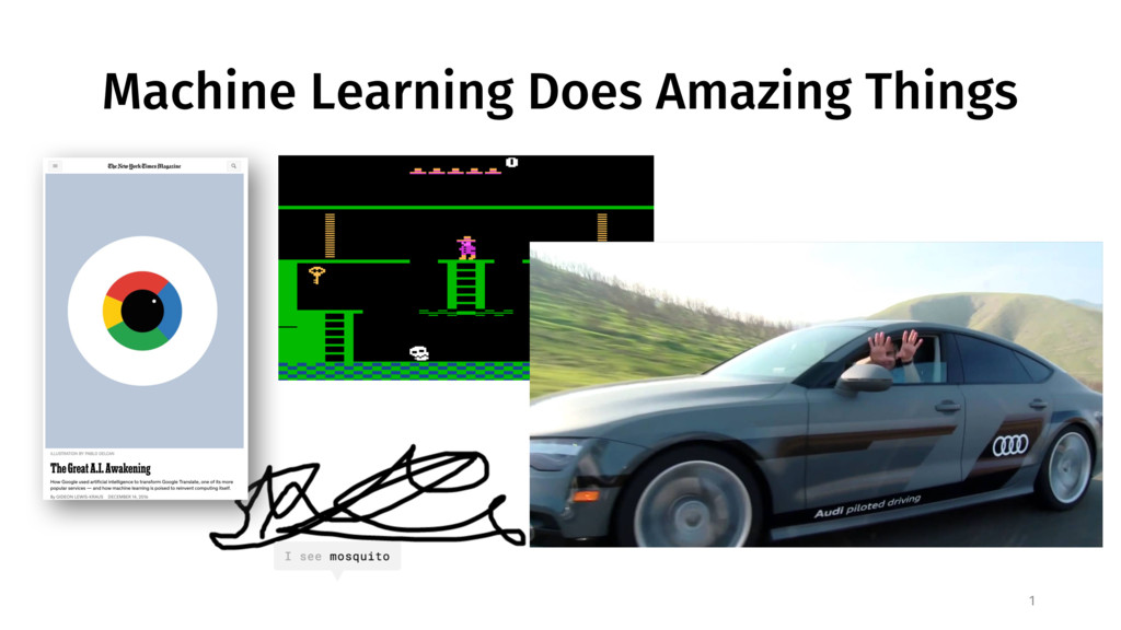Machine Learning Does Amazing Things 1