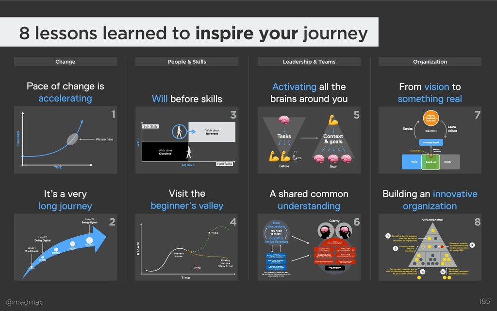 @madmac 8 lessons learned to inspire your journ...