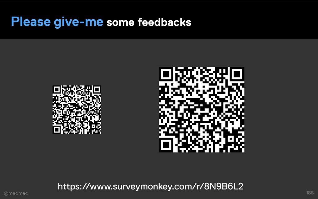 @madmac 188 Please give-me some feedbacks https...