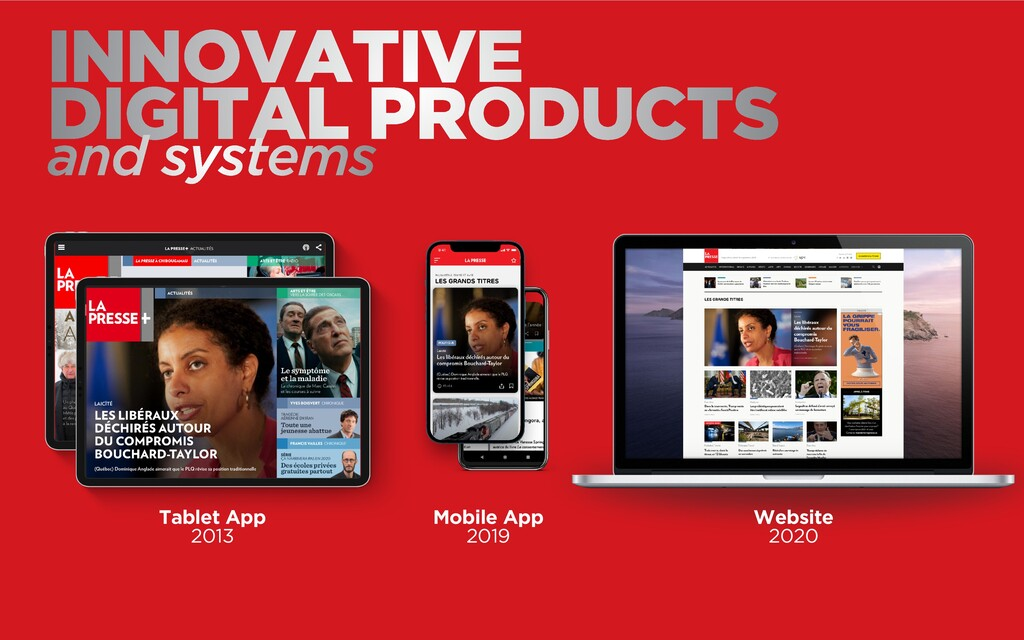 INNOVATIVE  DIGITAL PRODUCTS and systems Mobil...
