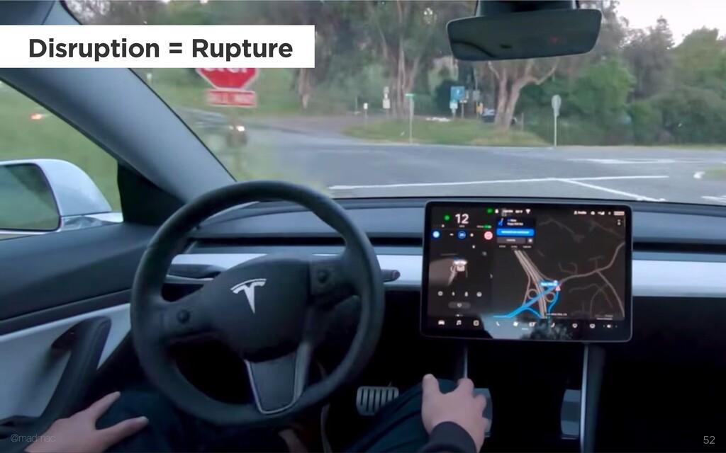 @madmac 52 Disruption = Rupture @madmac