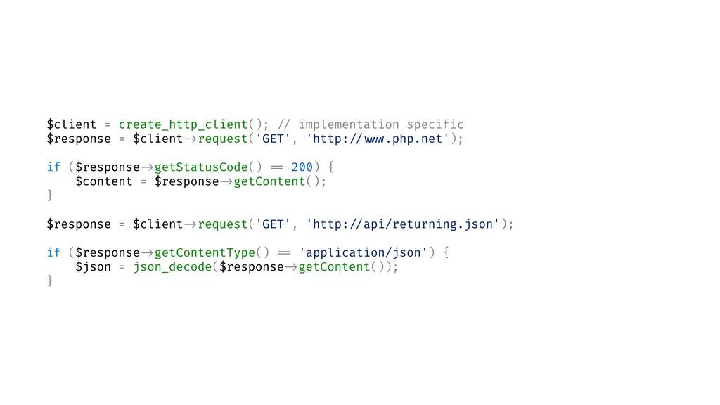 $client = create_http_client(); // implementati...
