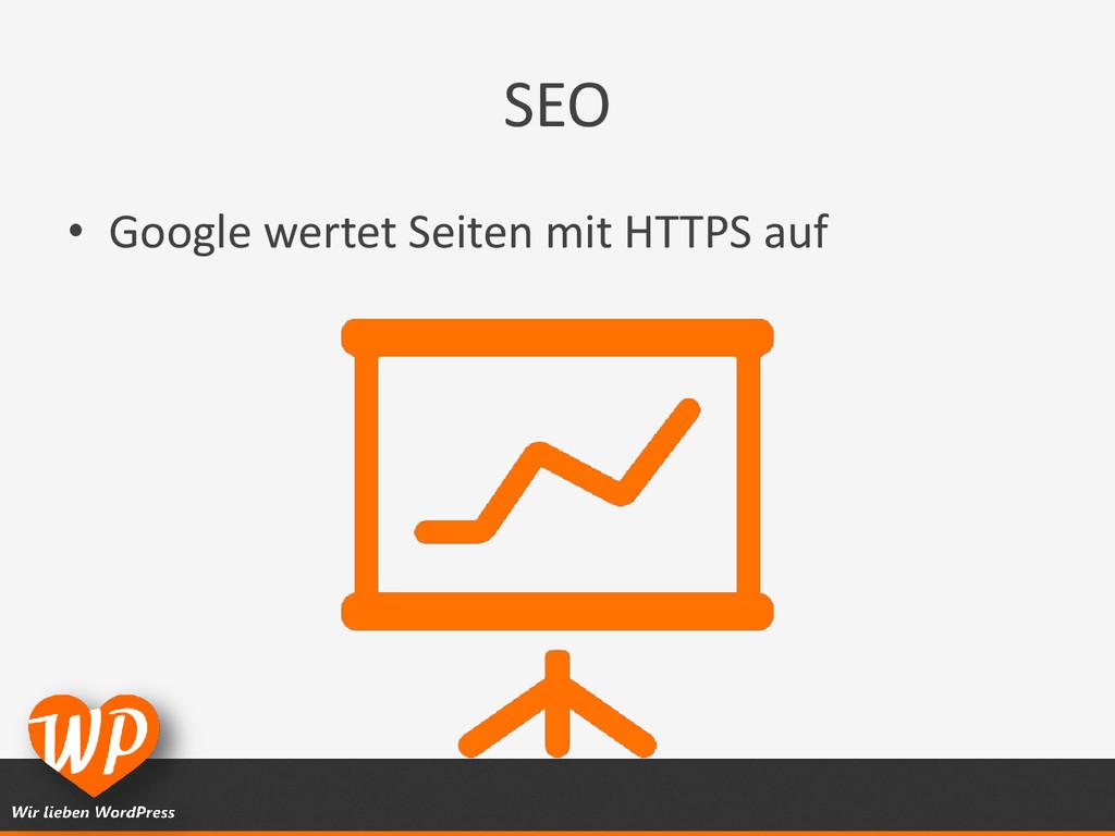 SEO • Google wertet Seiten mit HTTPS auf