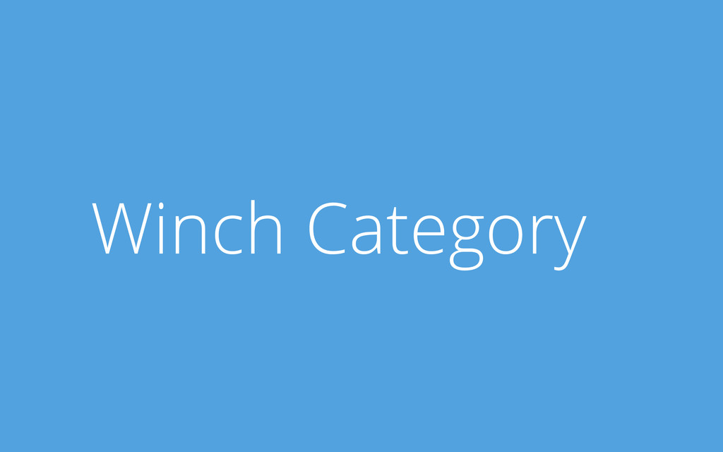 Winch Category