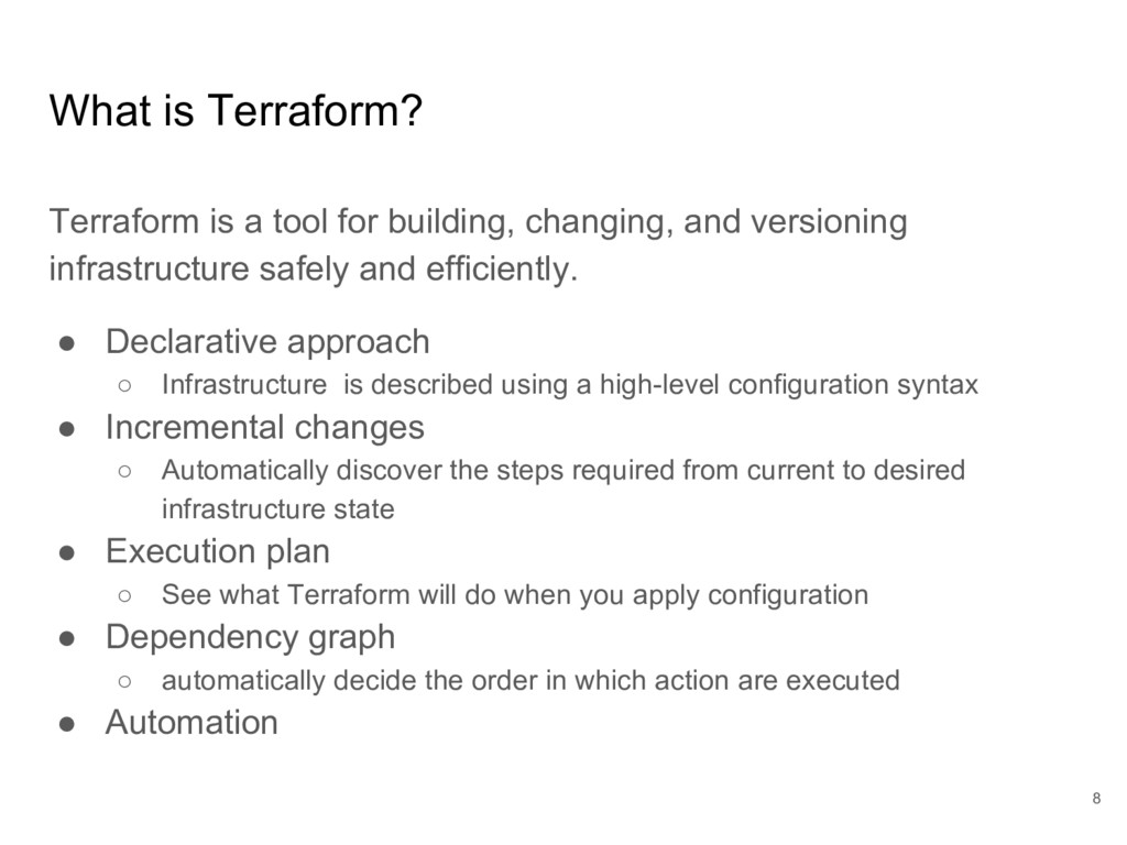 What is Terraform? Terraform is a tool for buil...