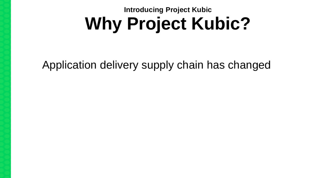 Application delivery supply chain has changed I...