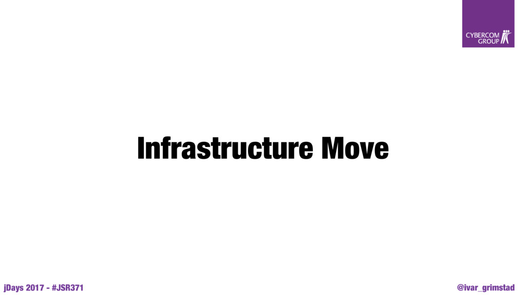 @ivar_grimstad jDays 2017 - #JSR371 Infrastruct...