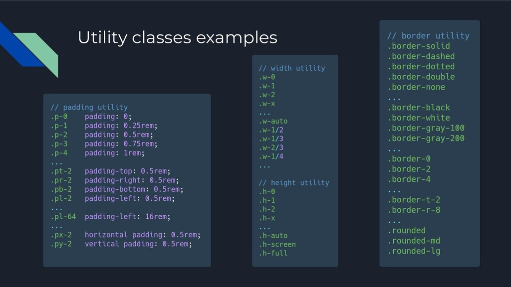 Utility classes examples