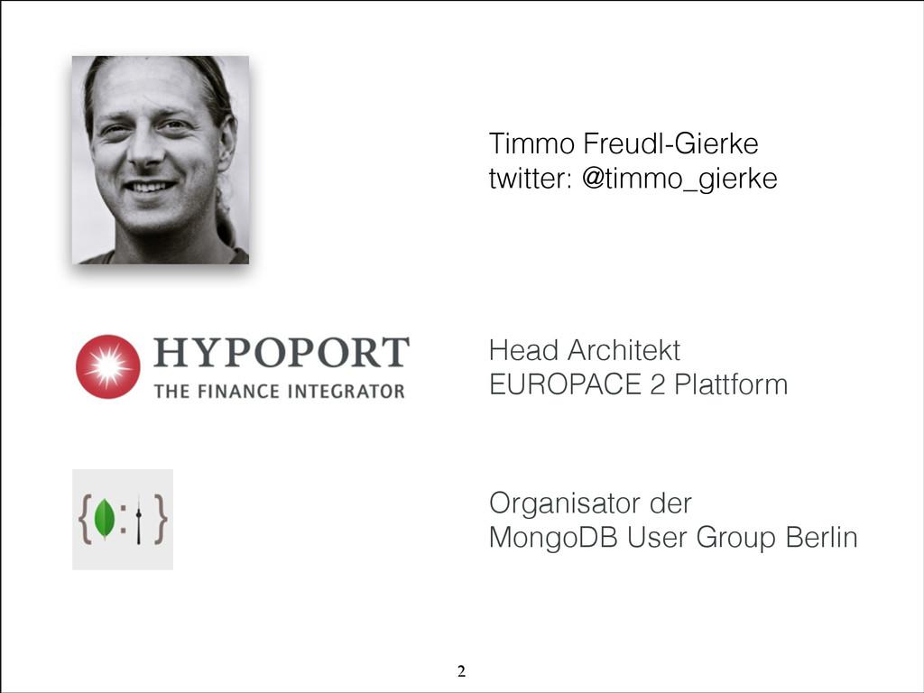 © 2011 HYPOPORT AG Organisator der  MongoDB Us...
