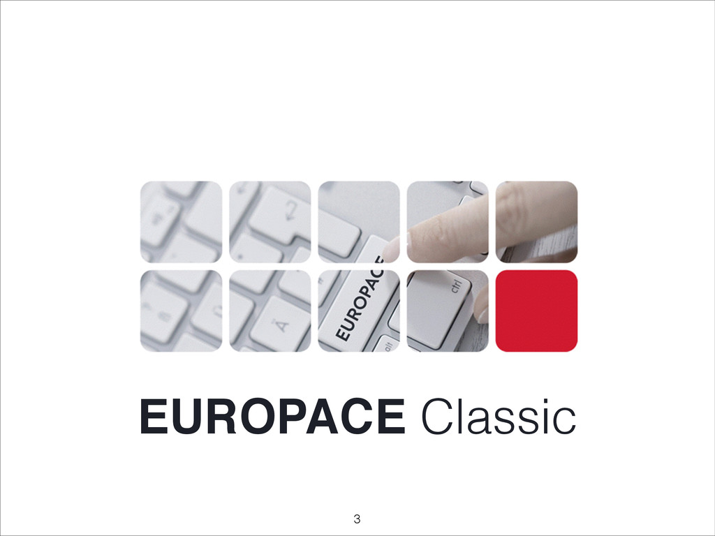 EUROPACE Classic !3