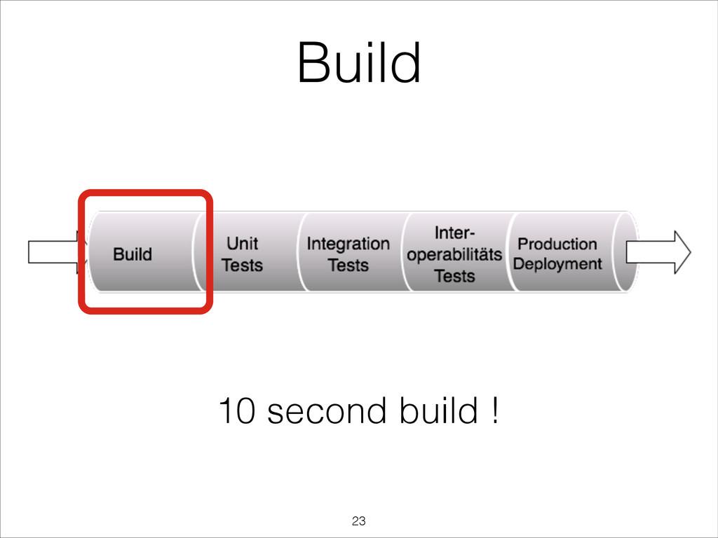 Build 10 second build ! !23