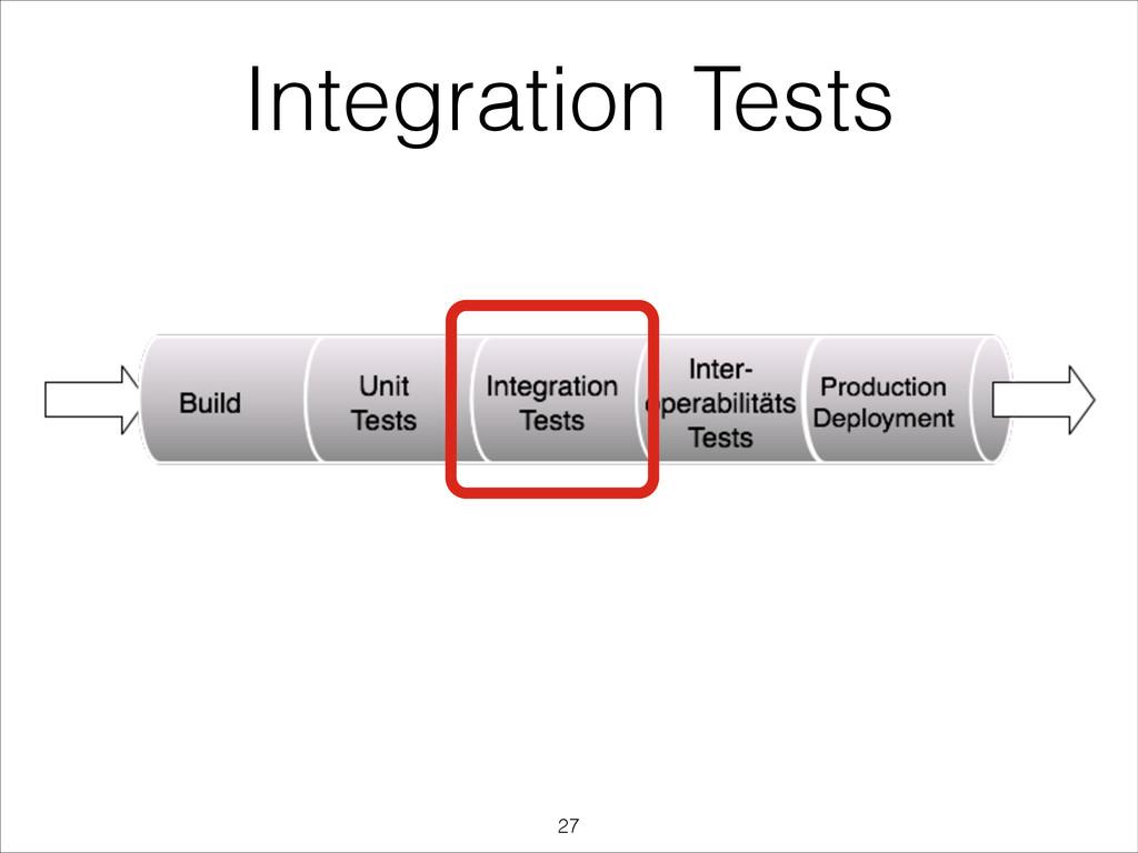 Integration Tests !27