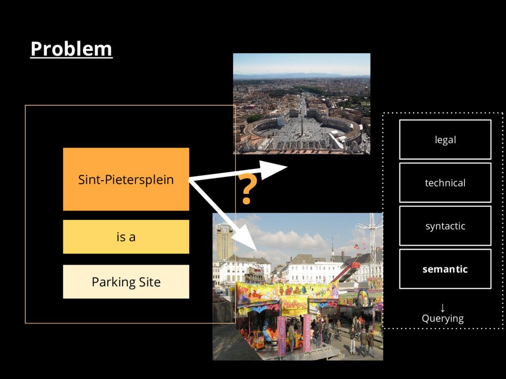 Problem Sint-Pietersplein is a Parking Site ? ↓...