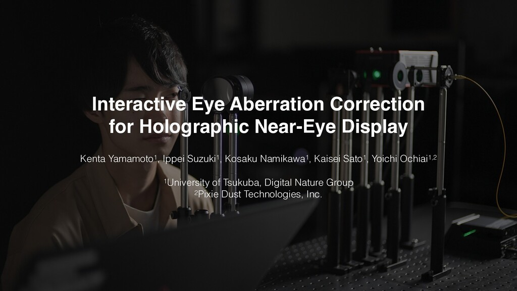 Interactive Eye Aberration Correction for Holo...