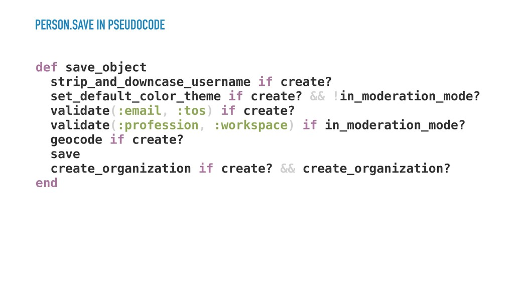 PERSON.SAVE IN PSEUDOCODE def save_object strip...