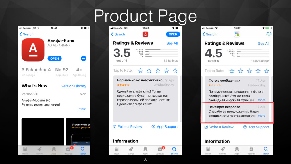 38 Product Page
