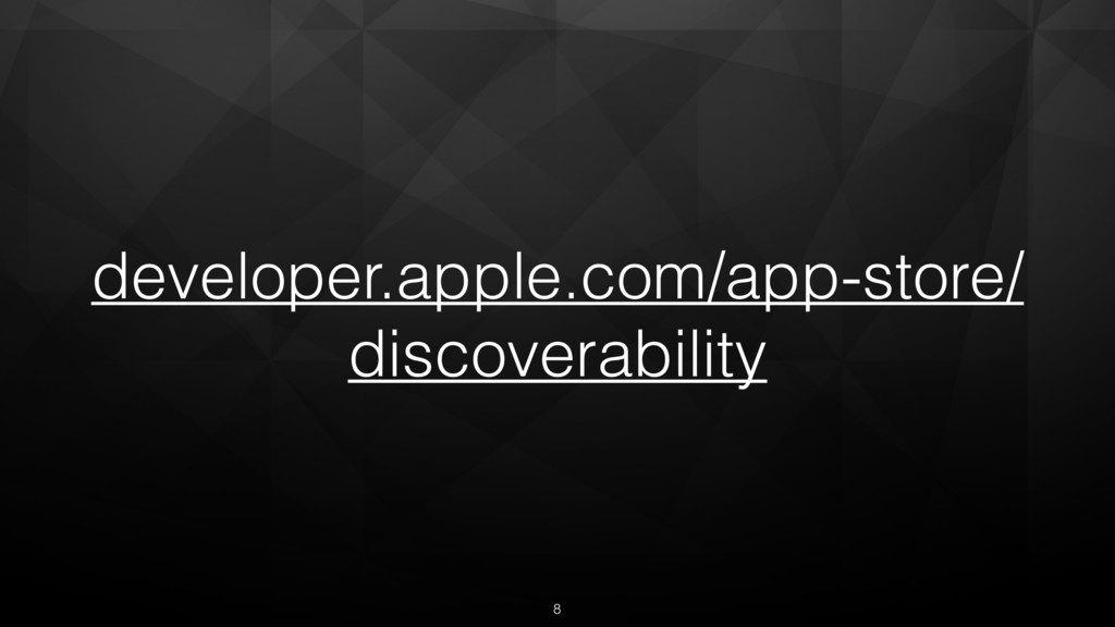 developer.apple.com/app-store/ discoverability 8