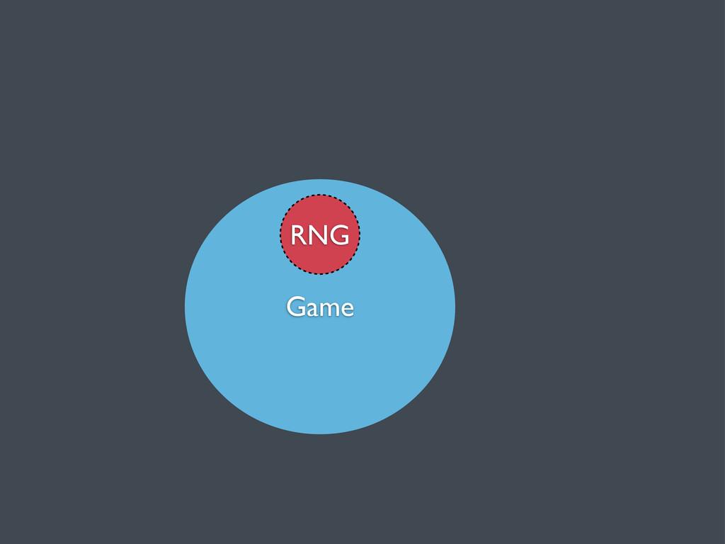 Game RNG