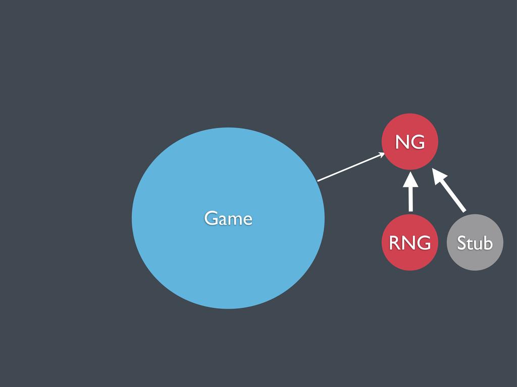 Game RNG NG Stub