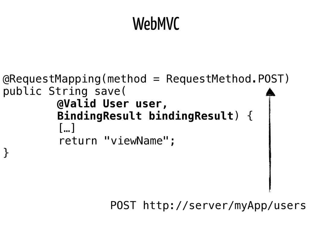WebMVC @RequestMapping(method = RequestMethod.P...