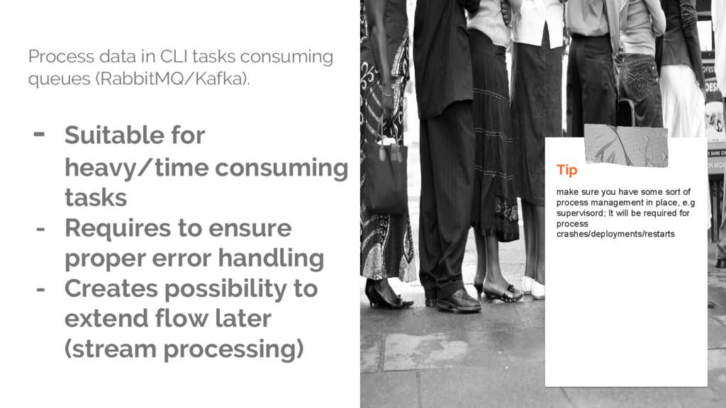 Process data in CLI tasks consuming queues (Rab...