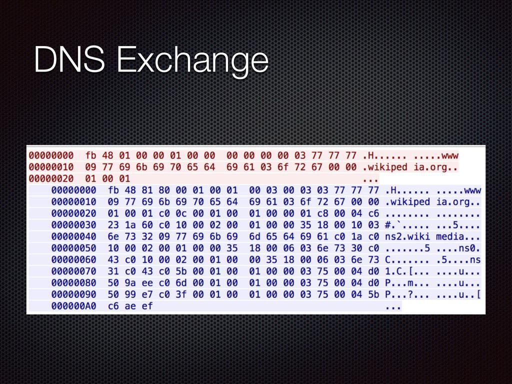 DNS Exchange